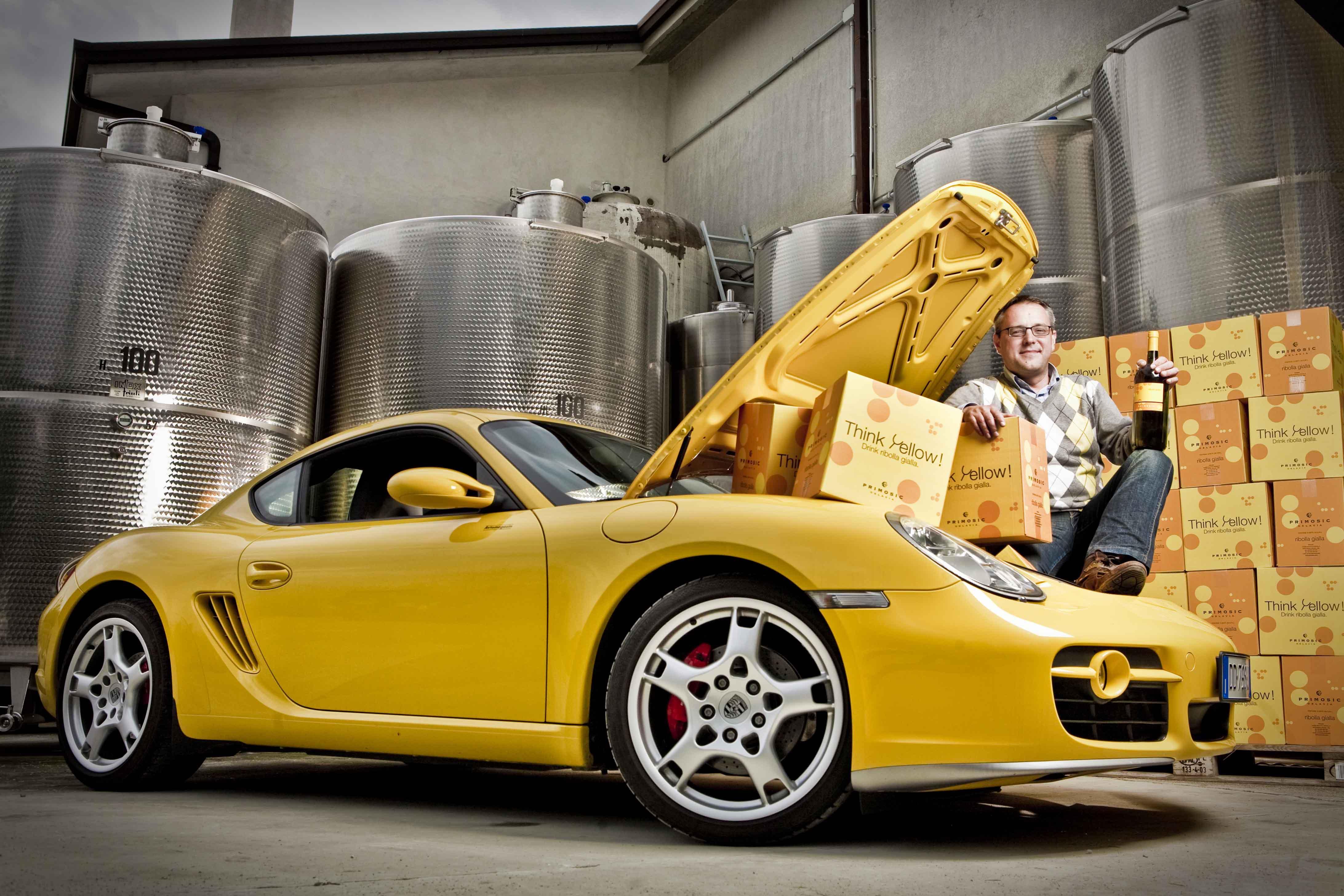 Vino e porsche che passione primosic urbini for Porsche ka che