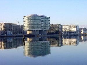 il doppio silos convertito in residence di lusso